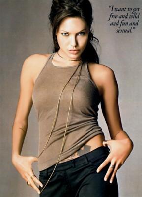 Angelina Jolie poster G8410