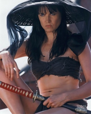 Lucy Lawless poster G84421