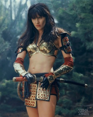 Lucy Lawless poster G84422