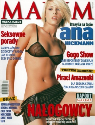Ana Hickman poster G87714