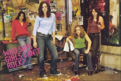 The Donnas poster G92954