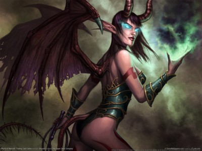 World of warcraft trading card game poster GW10642