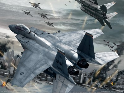 Ace combat 6 fires of liberation poster GW10672