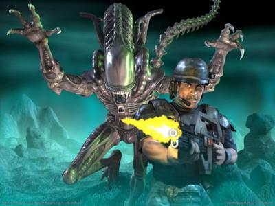 Aliens vs predator 2 poster GW10691