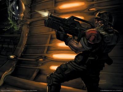 Aliens vs predator 2 poster GW10692