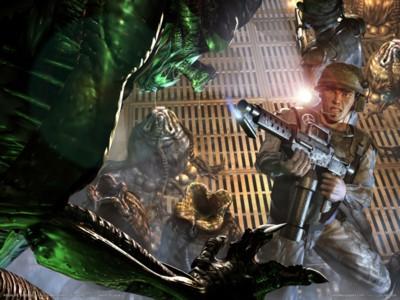 Aliens vs predator 2 poster GW10695