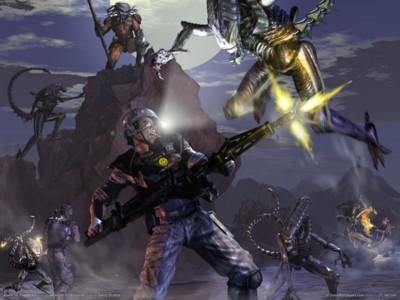 Aliens vs predator 2 poster GW10696