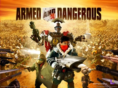 Armed and dangerous poster GW10728