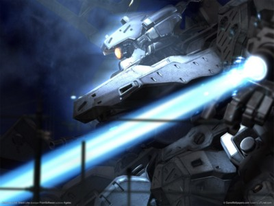 Armored core silent line poster GW10734