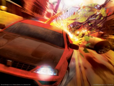 Burnout revenge poster GW10814