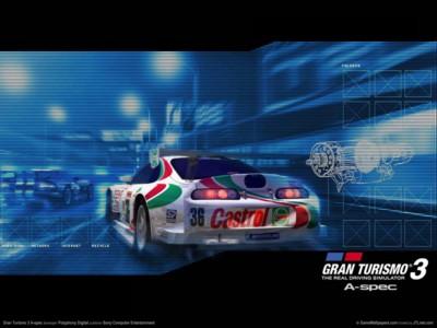 Gran turismo 3 a-spec poster GW11104