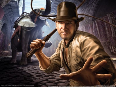 Indiana jones and the staff of kings poster GW11144