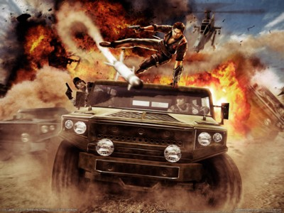 Just cause 2 poster GW11185