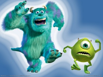 Monsters inc poster GW11293