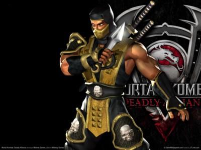 Mortal kombat deadly alliance poster