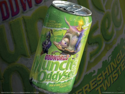 Munchs oddysee poster GW11324