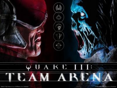 Quake 3 team arena poster GW11417