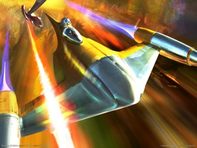Star wars starfighter poster GW11606