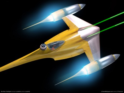 Star wars starfighter poster GW11607