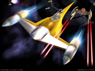 Star wars starfighter poster GW11610