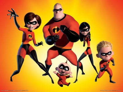 The incredibles poster GW11705