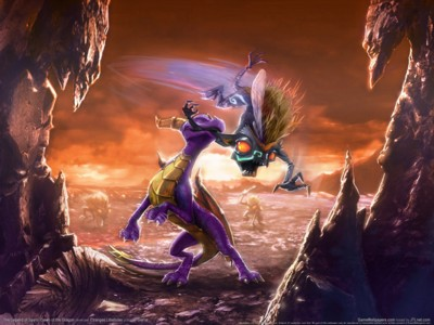 The legend of spyro dawn of the dragon poster GW11711