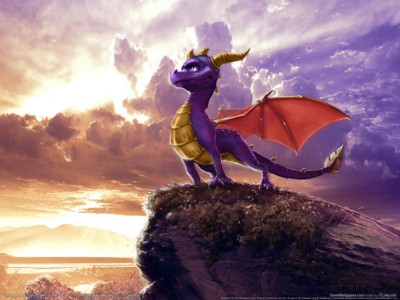 The legend of spyro dawn of the dragon poster GW11712