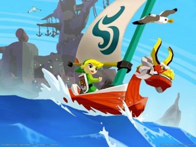 The legend of zelda the wind waker poster GW11714