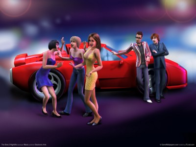 The sims 2 nightlife poster GW11732