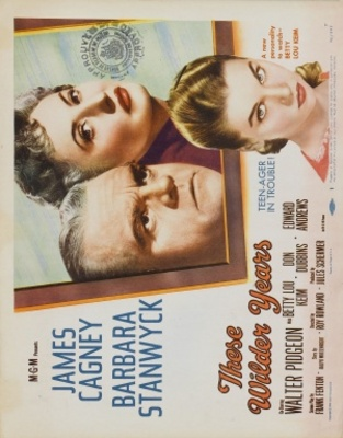 These Wilder Years movie poster (1956) poster MOV_000af335