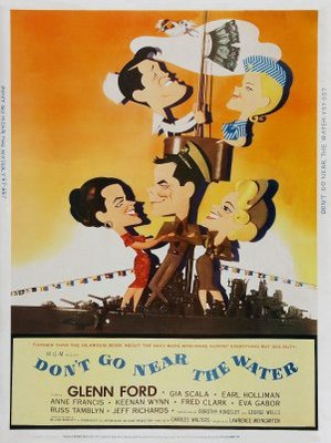 Don't Go Near the Water movie poster (1957) poster MOV_00182033