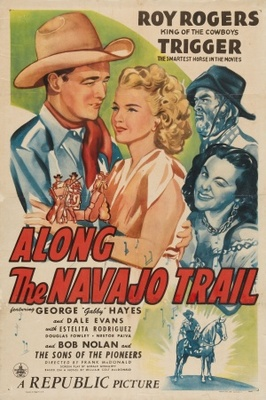 Along the Navajo Trail movie poster (1945) poster MOV_001aecaa