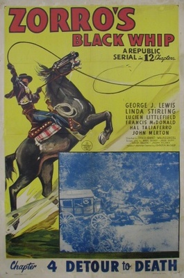 Zorro's Black Whip movie poster (1944) poster MOV_001d3d1d