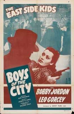 Boys of the City movie poster (1940) poster MOV_002e3ffd