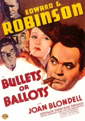 Bullets or Ballots movie poster (1936) poster MOV_003b7029