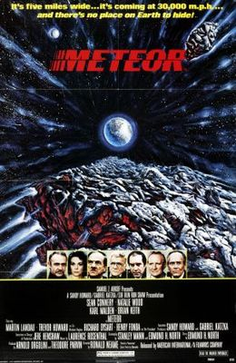 Meteor movie poster (1979) poster MOV_004ab481
