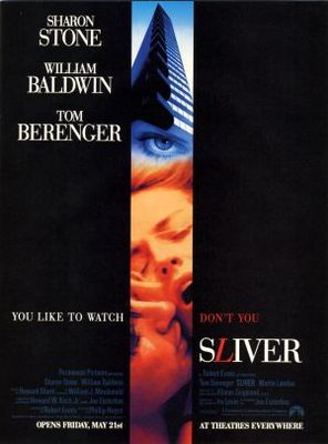 Sliver movie poster (1993) poster MOV_005d682e