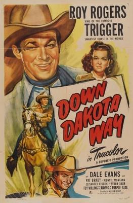 Down Dakota Way movie poster (1949) poster MOV_006119ee