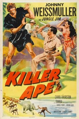 Killer Ape movie poster (1953) poster MOV_008c316b