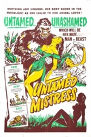 Untamed Mistress movie poster (1956) picture MOV_008ff520