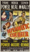Diplomatic Courier movie poster (1952) picture MOV_0093030d