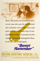 Sweet November movie poster (1968) picture MOV_00a983b1