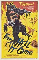 From Hell It Came movie poster (1957) picture MOV_00ac8237