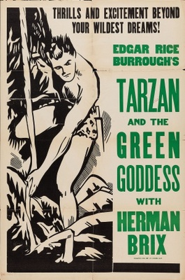Tarzan and the Green Goddess movie poster (1938) poster MOV_00bc7b9e