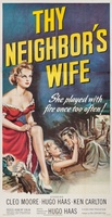 Thy Neighbor's Wife movie poster (1953) picture MOV_00dc9ee3