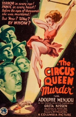 The Circus Queen Murder movie poster (1933) poster MOV_00f00c65