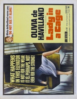 Lady in a Cage movie poster (1964) poster MOV_00f530a1