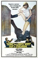 The Night the Lights Went Out in Georgia movie poster (1981) picture MOV_00f6159a