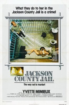 Jackson County Jail movie poster (1976) poster MOV_0126d83a