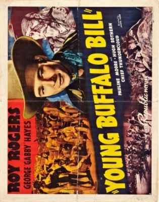 Young Buffalo Bill movie poster (1940) poster MOV_0129beaf